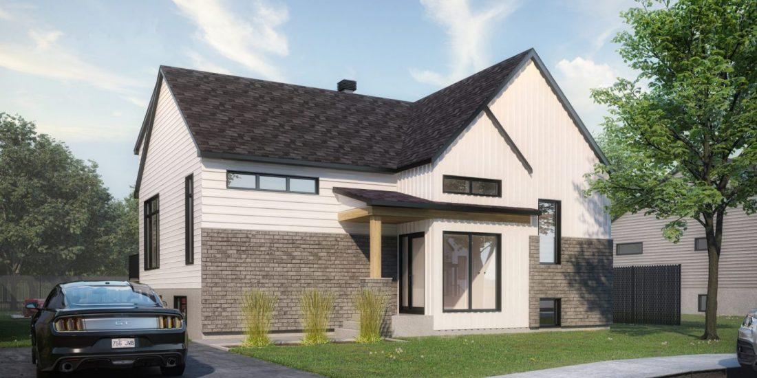 plan de maison, Habitations Jutras