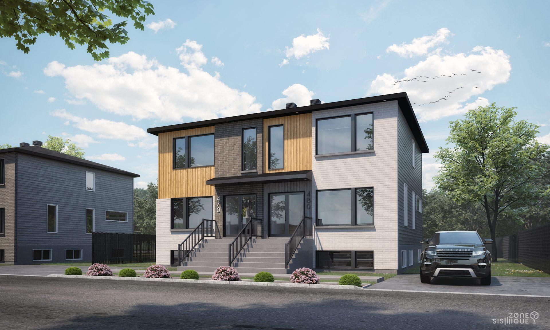maisons modèles, Habitations Jutras