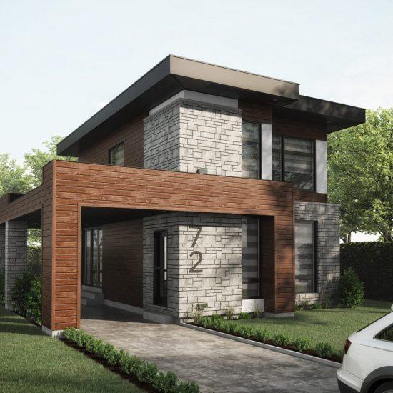 Maison modèle, Habitations Jutras