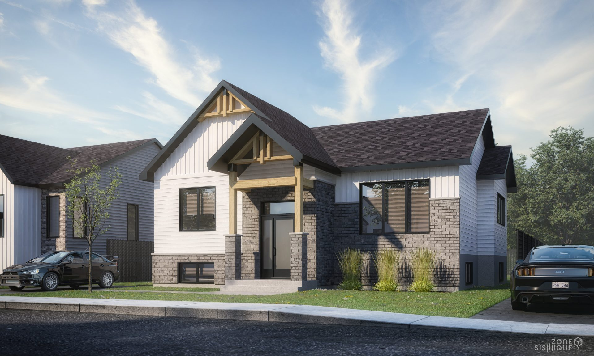 bungalow, Habitations Jutras