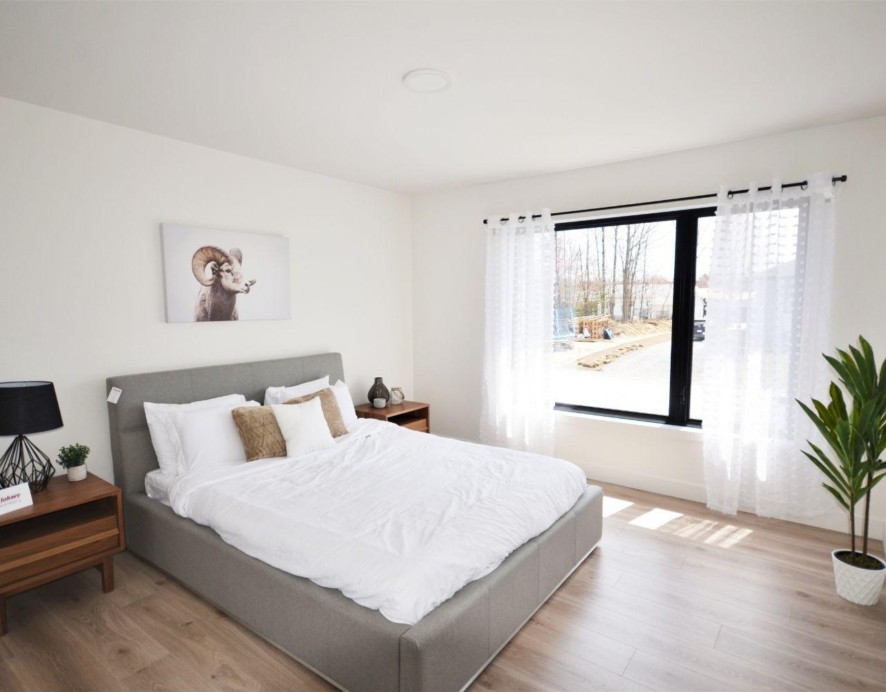 Chambre à coucher, Habitations Jutras