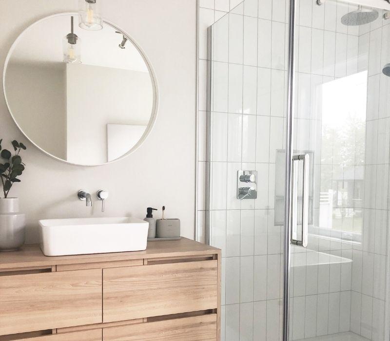 salle de bain, Habitations Jutras